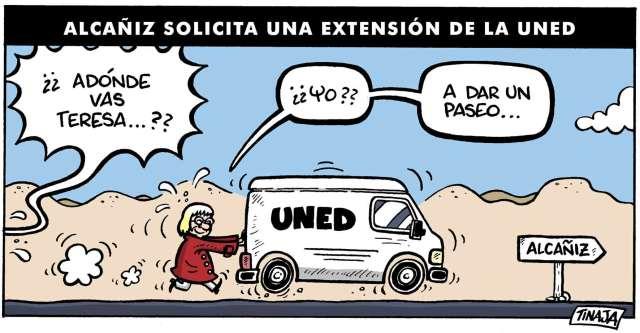 ALCAÑIZ SOLICITA UNA EXTENSIÓN DE LA UNED