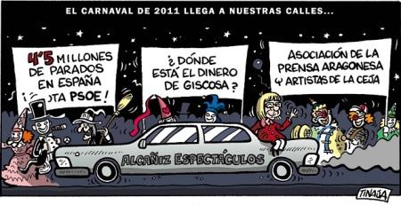 El Carnaval de 2011 llega a nuestras calles
