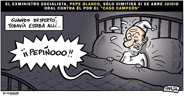El exministro Pepe Blanco sólo dimitirá si se abre juicio oral contra él por el Caso Campeón