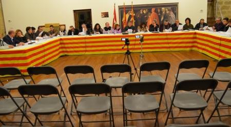 Esperpéntica última sesión de la Comarca Bajo Aragón Caspe